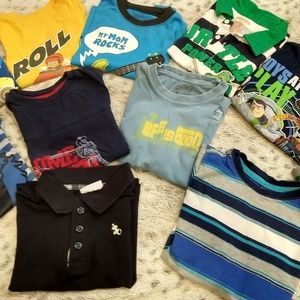 Toddler boy clothes size 3t-4t lot of 10 Pre-owned